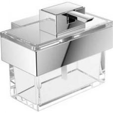 Дозатор для жидкого мыла Vara, 125х76х110мм,настенный монтаж, материал:прозрачное стекло, хром арт.422100100
