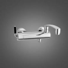 291007464 Arc смеситель для ванны/ душа, поворотный излив 260 мм (черный)
