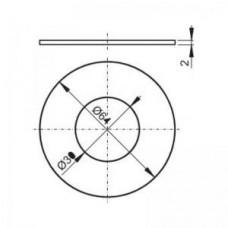 Прокладка 64 х 30 х 2 V015