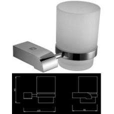 Энерджи держатель для стакана, матовое стекло, хром SM05050AA_R