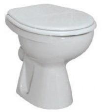 """Унитаз приставной """"Vidima"""" белый с сиденьем  W702201"""
