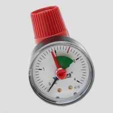 Клапан  предохранительный SVM  ВВ с манометром арт. 02.15.725  2,5 бар-1/2'