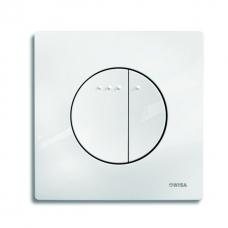 Клавиша смывная инсталляции Wisa Quadro Enyo Df белая арт. 8050.416701